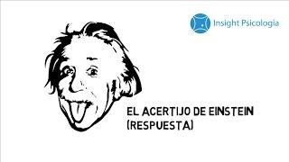 El acertijo de Einstein (Respuesta) - Insight Psicología