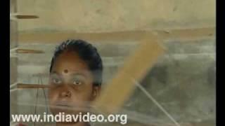 Weavers of Balaramapuram Village