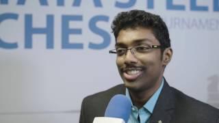 Adhiban Baskaran proves to everyone that he belongs in the TataSteelChess Masters