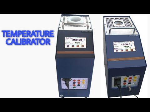 Dry Block Temperature Calibrator TCAL 1501/1200