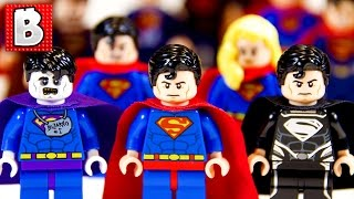 Every Lego Superman Ever!!! + Rare Comic Con Black Suit Superman | Collection Review