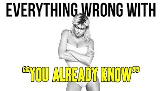 "Everything Wrong With Fergie - ""You Already Know ft. Nicki Minaj"""