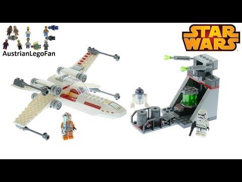 Vidéo LEGO Star Wars 75235 : Chasseur stellaire X-Wing de la tranchée