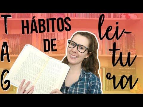 TAG Hábitos de Leitura | Leituras de Deni