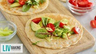 3-Ingredient Gluten-Free Flatbread   Liv Baking
