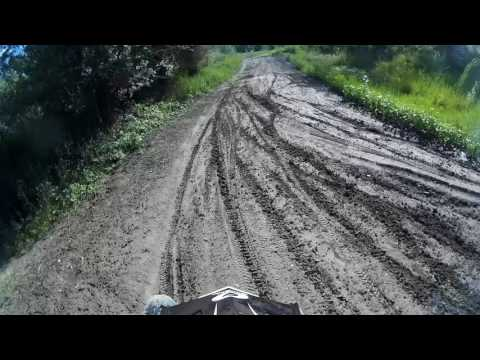 Yamaha Dt 125r vs Yamaha Wr 200 Motocross training