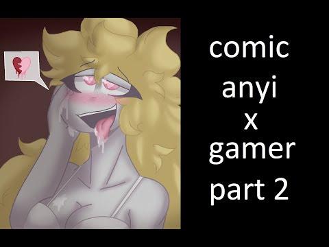 comic de anyi x gamer  [+18 ] [part 2 ]