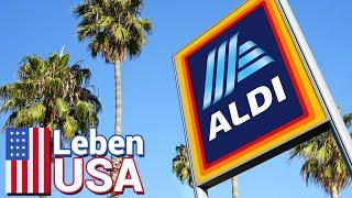Besuch bei ALDI Kalifornien - Supermärkte & Einkaufen in USA