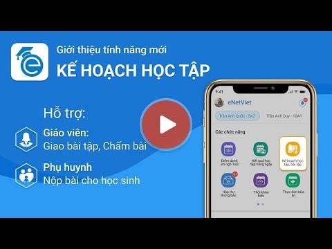 Hướng dẫn Giáo viên giao Bài tập về nhà cho HS trên app eNetViet