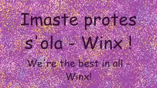 Winx 4 ♪ Believix (GREEK) - Lyrics (Latin) + Translation