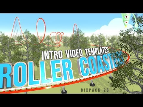 BixPack 26 - Roller Coasters - Intro Video Templates