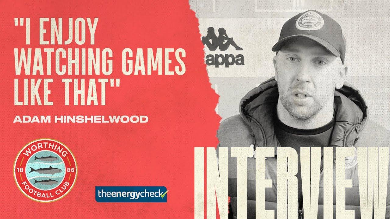 "Thumbnail for Hinshelwood: ""I enjoy watching games like that"""