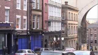 preview picture of video 'Review: Surtees Hotel, Newcastle-Upon-Tyne, November 2012'
