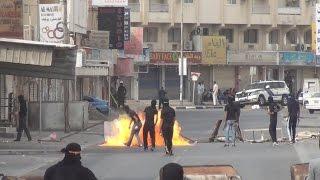 preview picture of video 'توبلي | رفع أعمدة الدخان أمام أعين المرتزقة إضراب الإباء | 12-2-2015'