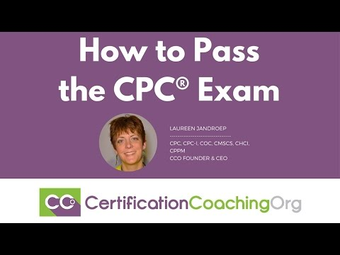 How to Pass the CPC Exam - YouTube