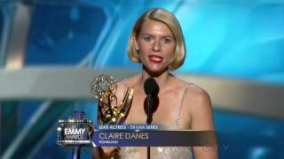 Emmys 2013 Outstanding Lead Actress Drama Series Claire Danes Movie