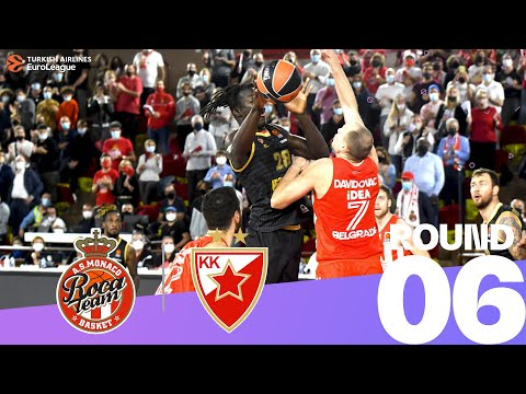 RS Round 6 Highlights: Monaco 70-62 Zvezda