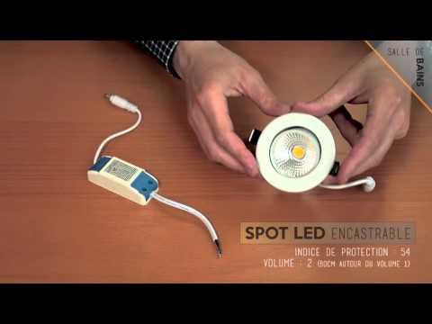 Led-Flash : Comment équiper votre salle de bain avec des spots led ?