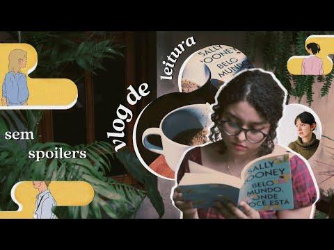 """Vlog de Leitura: """"Belo mundo, onde você está"""" da Sally Rooney (sem spoilers) e livros da book friday"""