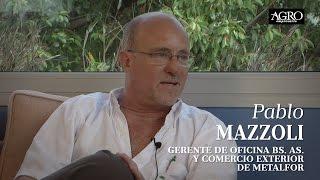 Pablo Mazzoli - Gerente de Oficina Bs. As. y Comercio Exterior de Metalfor