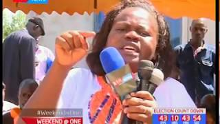 Wanga, Homa Bay county Women Rep. accuses the Jubilee party of letting Kenyans die