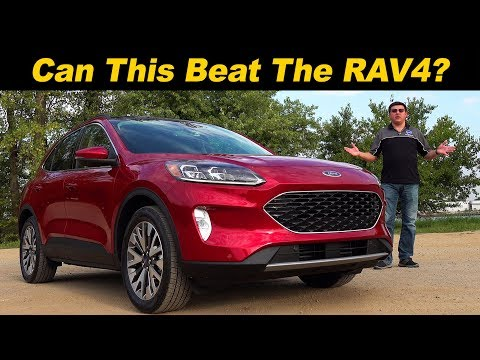 External Review Video WRAPfztVUKM for Ford Escape (4th gen) Compact Crossover