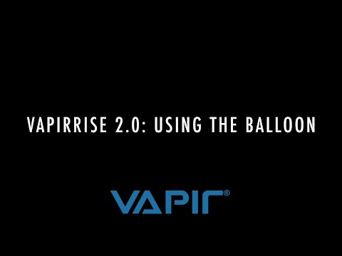 VAPIRRise 2.0: How to use the Balloon