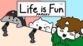 "Bongo Cat - ""Life is Fun"" - Ft. TheOdd1sOut & Boyinaband (Official Music Video PARODY)"