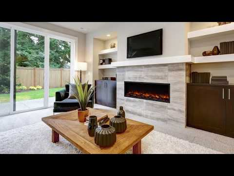 SimpliFire Scion Linear Electric Fireplaces