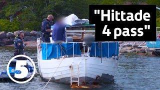 Havets hjältar   Sjöpolisen griper två efterlysta personer efter inbrott   Tisdagar 20.00