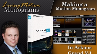 ArKaos Grand VJ Video Tutorial - 10. Arkaos Grand VJ - How to Make a Motion Monogram