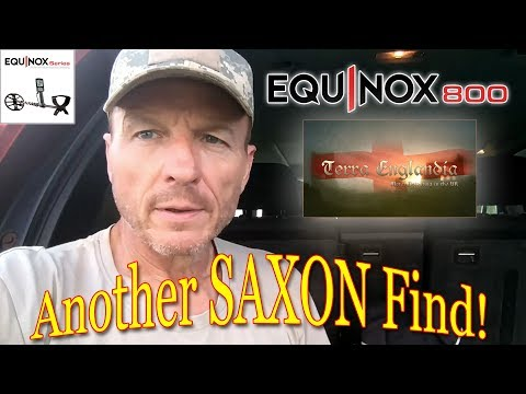 Metal Detecting UK - Another Saxon Find