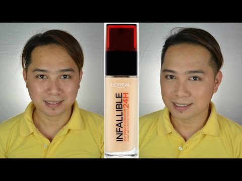 L'Oréal Infallible 24 HR Stay Fresh Foundation First Impression Review | Patrick Oronico