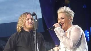 P!NK  PINK   Walk Me Home   Live At Hampden Park, Glasgow   Saturday 22nd June 2019