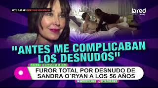 A cargo de Sandra O'Ryan: El desnudo televisivo que causó furor en redes sociales