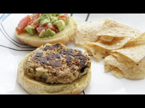 Video Eggplant Burgers Recipe (9.9.12 - Day 28) Vegan Turkey Burgers Recipe
