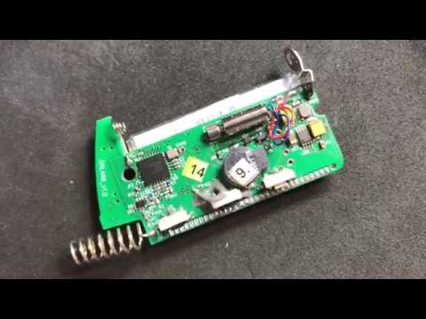 Ремонт брелка сигнализации Pandora. Замена кнопки. Неисправен дисплей.