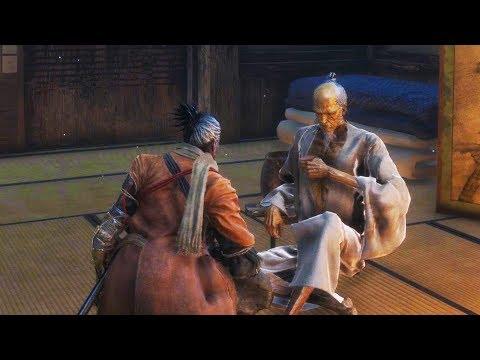 SEKIRO: SHADOWS DIE TWICE - All Sake Drinking Moments (Conversations) with Lord Isshin Ashina