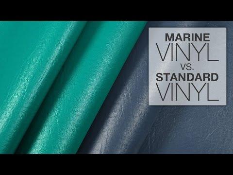 Comparing Marine Vinyl & Standard Vinyl