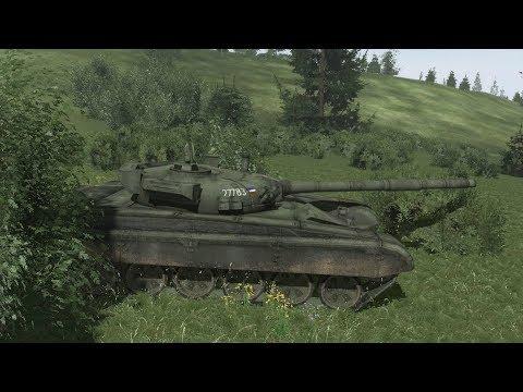 НЕРАВНАЯ ТАНКОВАЯ ДУЭЛЬ В Симуляторе Войны Arma 3 Мод RHS