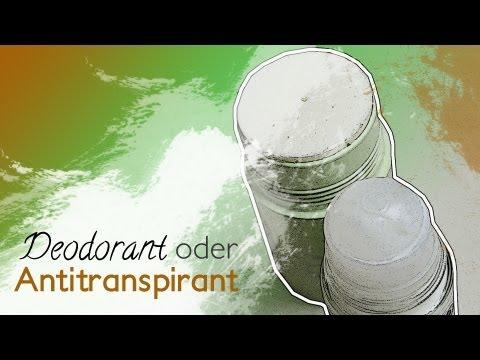 Deodorant VS Antitranspirant -- Was tun bei Schwitzen?
