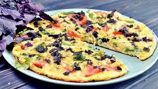 Превосходный ОМЛЕТ с помидорами и сыром - простой и полезный завтрак