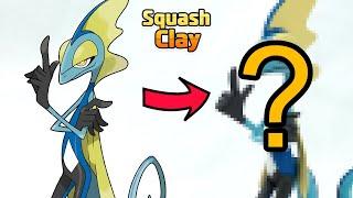 インテレオン   - (ポケットモンスター) - Pokémon Sword & Shield Clay art: Inteleon!! Water-type Pokémon [Satisfying video]