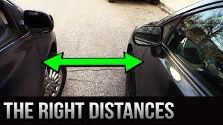 Parallel Parking - The Right Distances