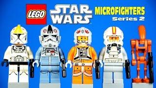 LEGO Star Wars Microfighters Series 2 ARC-170 with Starfighter Snowspeeder AT-AT & Republic Gunship