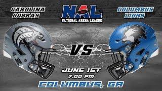Carolina Cobras vs Columbus Lions