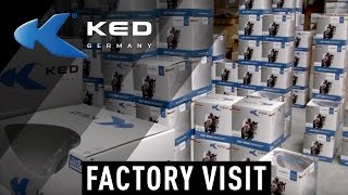KED® SHOWARROUND - HELMETS MADE IN GERMANY
