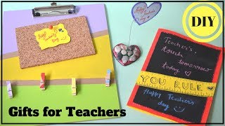 DIY: EASY HANDMADE GIFTS For TEACHER I TEACHERS DAY SPECIAL
