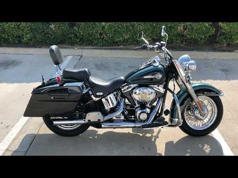 2002 Harley-Davidson FLSTC/FLSTCI Heritage Softail® Classic in Temecula, California - Video 1