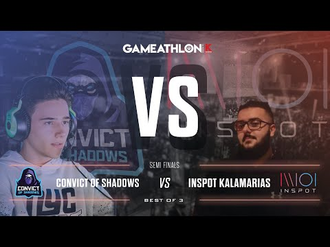 Gameathlon Online July 2020 (Game Only) - LoL Semifinals - Inspot Kalamarias VS Convict of Shadows